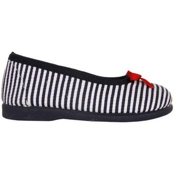 Zapatos Niña Bailarinas-manoletinas Cotton Club CC0008 Azul