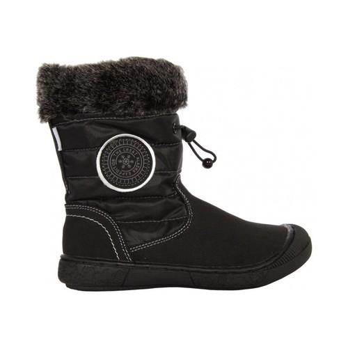 Zapatos Niña Botas de nieve Flower Girl 193907-B2040 Negro