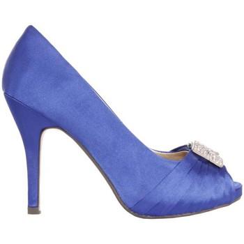 Zapatos Mujer Zapatos de tacón Glamour B038013-B7345 Azul