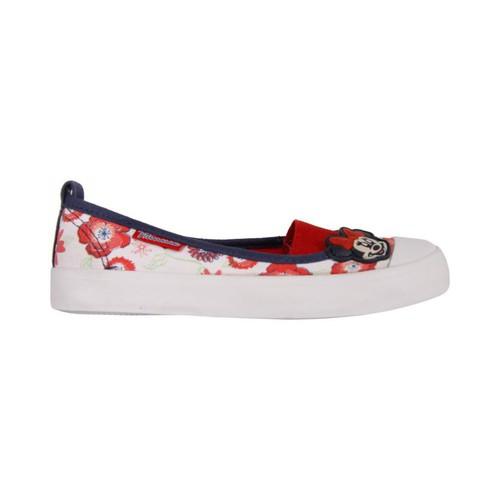Zapatos Niña Bailarinas-manoletinas Minnie Mouse 2303-724 Blanco