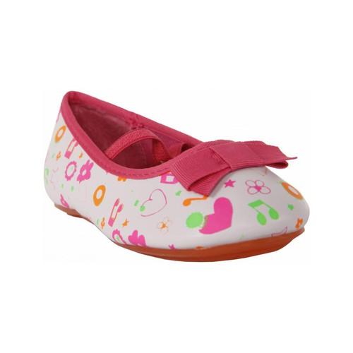 Zapatos Niña Bailarinas-manoletinas Flower Girl 149200-B2040 Blanco