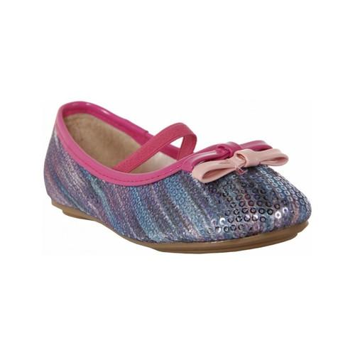 Zapatos Niña Bailarinas-manoletinas Flower Girl 850881-B460 Azul