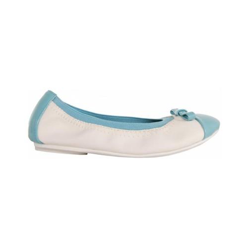 Zapatos Niña Bailarinas-manoletinas Flower Girl 851630-B4020 Blanco