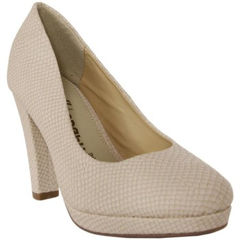Zapatos Mujer Zapatos de tacón Odgi-Trends 728061-B7200 Beige