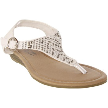 Zapatos Niña Sandalias Happy Bee B115782-B4600 Blanco