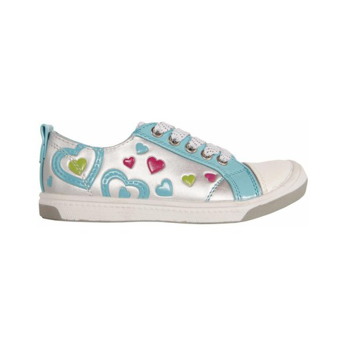 Zapatos Niña Zapatillas bajas Flower Girl 148711-B2040 Plateado