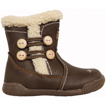 Zapatos Niña Botas urbanas Happy Bee B160958-B1392 Marrón