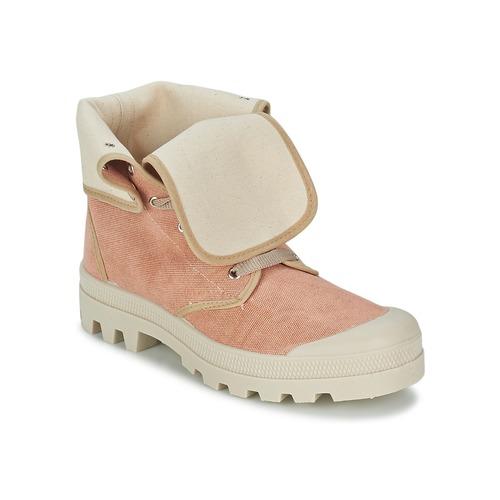 Casual Mujer Attitude Altas Rosa Zapatillas Bopessa Zapatos 0ONnvwm8