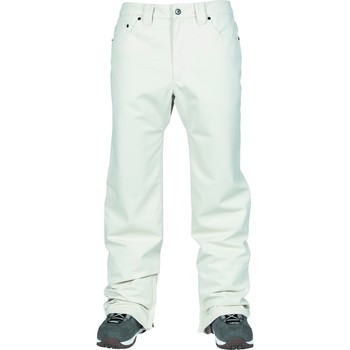 textil Pantalones L1 Outerwear Straight Standard Blanco