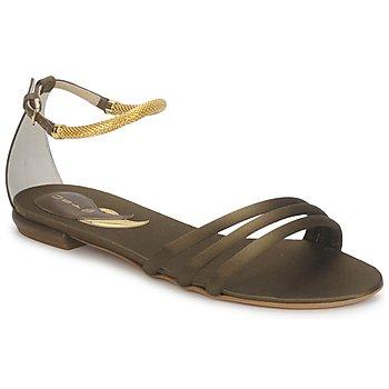 Zapatos Mujer Sandalias Etro 3461 Militaire