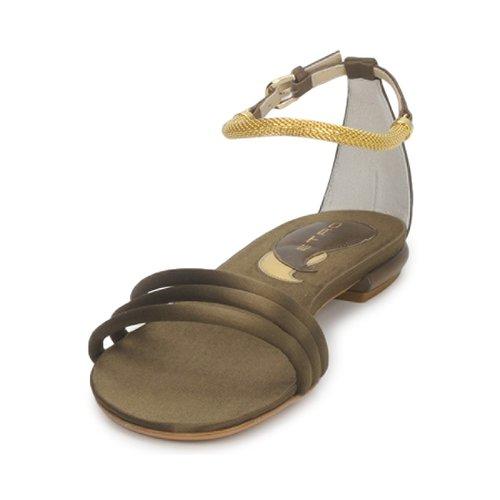 Mujer Etro 3461 Sandalias Zapatos Militaire dxoCBerW