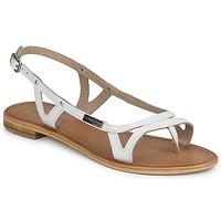 Zapatos Mujer Sandalias Les Tropéziennes par M Belarbi ISATIS Blanco