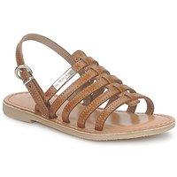Zapatos Niña Sandalias Les Tropéziennes par M Belarbi MANGUE Tan
