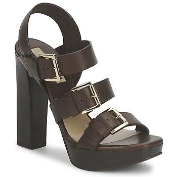 Zapatos Mujer Sandalias Michael Kors MK18071 Café