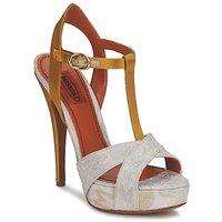 Zapatos Mujer Sandalias Missoni TM30 Gold / Silver