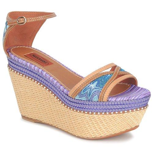 Zapatos promocionales Missoni TM26 Azul / Marrón  Gran descuento