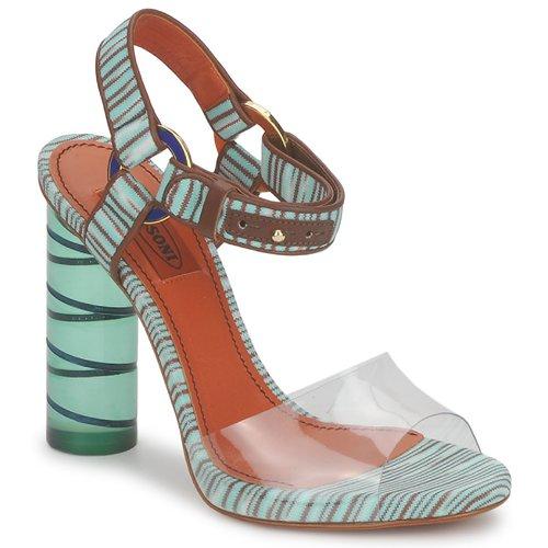Mujer Tm63 Zapatos Sandalias Missoni Agua JlFK1c