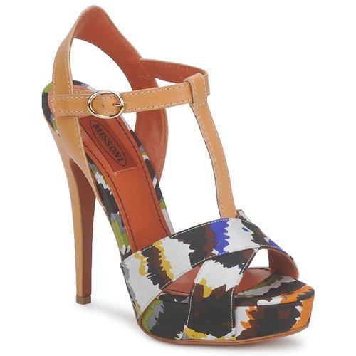 Zapatos Mujer Sandalias Missoni TM69 Multicolor
