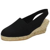 Zapatos Mujer Alpargatas Torres Alpargata esparto Negro
