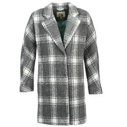 textil Mujer Abrigos Yumi EHIME Blanco / Gris