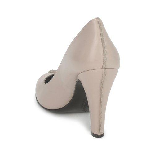 Mujer Tyra Karine De Arabian Zapatos Tacón Beige UpMSqzVG