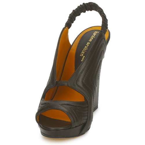 Mujer Arabian Zapatos Karine Negro Sandalias Orphee gvf7bY6y