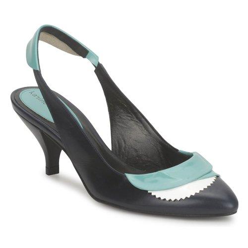 Zapatos Mujer Sandalias Karine Arabian LILA Tinta / Blanco / Turquesa
