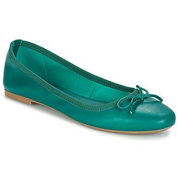 Zapatos Mujer Bailarinas-manoletinas André PIETRA Verde