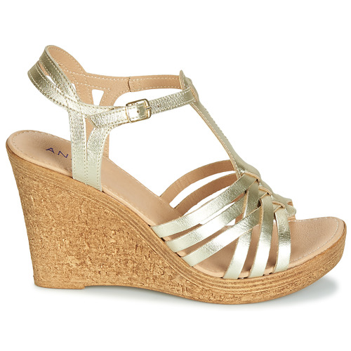 Mujer André Dorado Zapatos Fabuleuse Sandalias FKT1J3cl