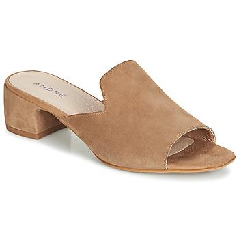 Zapatos Mujer Sandalias André SENSASS Beige