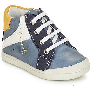 Zapatos Niño Botas de caña baja André PEDALO Azul