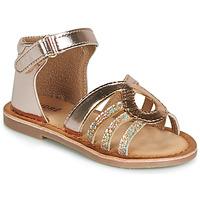 Zapatos Niña Sandalias André LEÏA Dorado