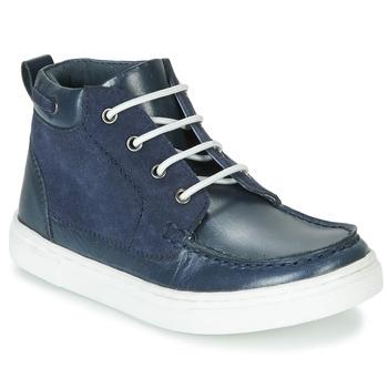 Zapatos Niño Botas de caña baja André PIRATE Marino