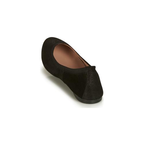 Mujer Zapatos Negro manoletinas Carlara André Bailarinas VSUpzqM