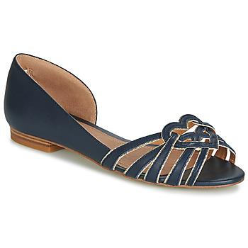 Zapatos Mujer Bailarinas-manoletinas André CHRISTIE Marino