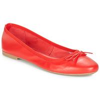 Zapatos Mujer Bailarinas-manoletinas André PIETRA Rojo