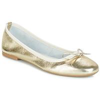 Zapatos Mujer Bailarinas-manoletinas André PIETRA Oro