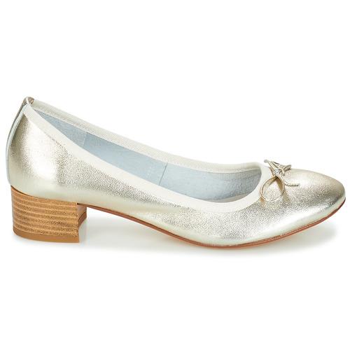 Oro Zapatos Mujer Poetesse Tacón De André 2WD9EHI