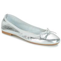 Zapatos Mujer Bailarinas-manoletinas André PIETRA Plata