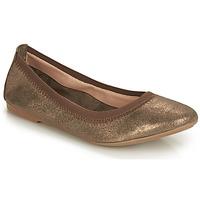 Zapatos Mujer Bailarinas-manoletinas André CARLARA Bronce