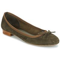 Zapatos Mujer Bailarinas-manoletinas André CINDY Kaki