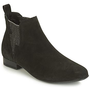 Zapatos Mujer Botas de caña baja André ROCKA Negro