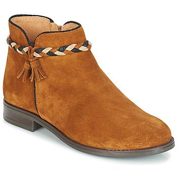Zapatos Mujer Botas de caña baja André RAVIE Camel