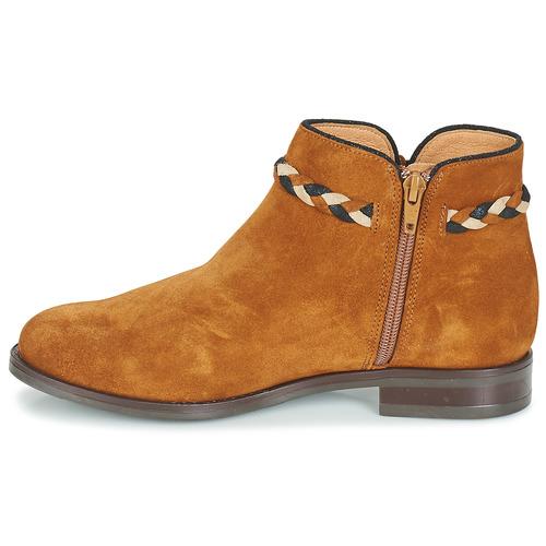 Baja Camel De Mujer André Botas Caña Ravie Zapatos 34AjLqR5