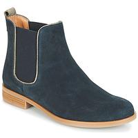Zapatos Mujer Botas de caña baja André RIDER Azul