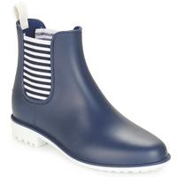 Zapatos Mujer Botas de agua André SKIPPER Azul