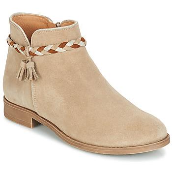 Zapatos Mujer Botas de caña baja André RAVIE Beige