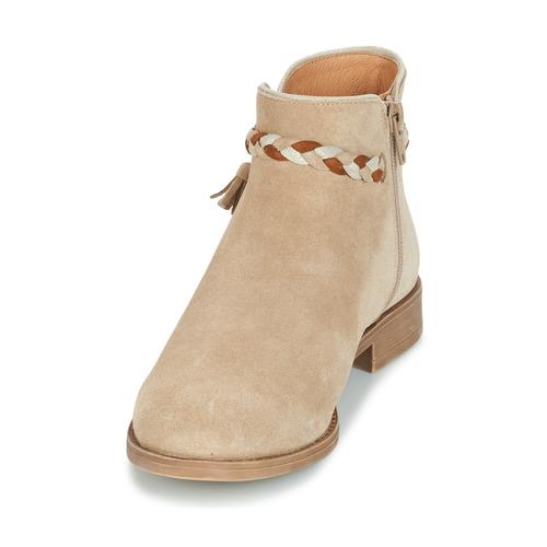 Caña Botas Beige Baja De Mujer André Zapatos Ravie n0k8OPXw