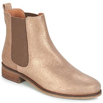 Zapatos Mujer Botas de caña baja André CHATELAIN Oro
