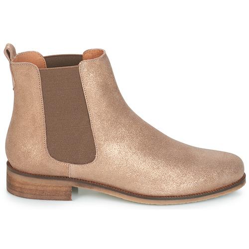 Botas De Chatelain Mujer Zapatos Oro Caña Baja André kuwOXZTlPi